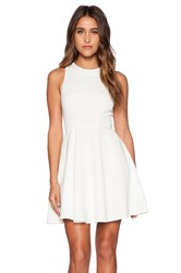 Minty Meets Munt Instant Crush Dress White