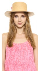 Indego Africa Dumont Hat With Imigwegwe Tassel Tan Pink