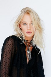 Free People Womens Bandito Metal Collar
