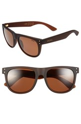 Women's Zeal Optics 'Ace' 54Mm Biodegradable Plant Based Sunglasses Ace Bombay Brown