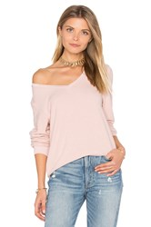 Wildfox Couture Long Sleeve Top Pink