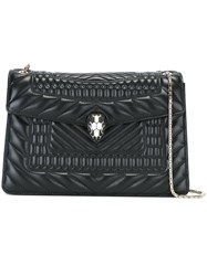 Bulgari Chain Strap Shoulder Bag Black