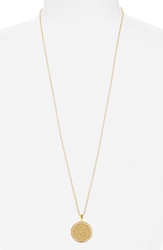 Anna Beck 'Gili' Pendant Necklace Gold