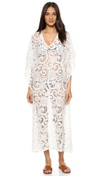 9Seed St Tropez Lace Nantucket Cover Up Dress White