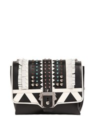 Paula Cademartori Alice Studded Leather Bag W Fringe