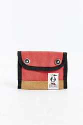 Chums Mesquite Snap Wallet Red