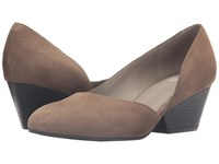 Eileen Fisher Lily Shadow Suede Women's 1 2 Inch Heel Shoes Gray