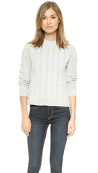 For Love And Lemons Knitz Cabin Fever Sweater Grey