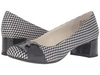 Anne Klein Hastobe Black White Geo Cube Print Women's Shoes