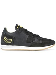 Philippe Model 'Arrow' Patch Sneakers Black