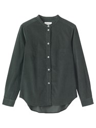Toast Needlecord Shirt Dark Slate Green