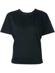 Sacai Lace Up Detail T Shirt Black