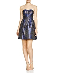 Aqua Strapless Jacquard Dress 100 Bloomingdale's Exclusive