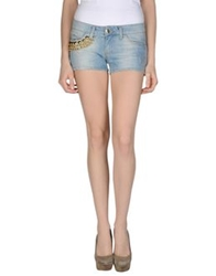 Mangano Denim Shorts Blue