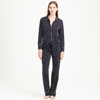 J.Crew Dreamy Cotton Pajama Set In Heart