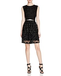 Ali And Jay Two Piece Lace Dress Black