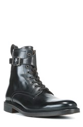 George Brown Bilt Men's 'Fulton' Lace Up Boot Black Leather