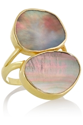 Pippa Small 18 Karat Gold Oyster Shell Ring