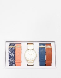 Aldo Sinistro Multi Strap Watch Multi