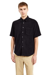 Our Legacy Terry Short Sleeve Shirt Black