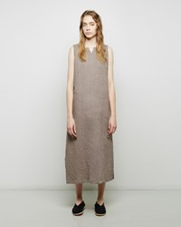 Fog Linen Work Leah Night Dress Beige