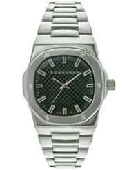 Sean John Men's Urban Silver Tone Bracelet Watch 52Mm 10024464