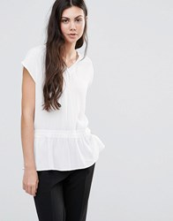 Minimum Etel Blouse White