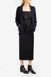 Elizabeth And James Lars V Neck Cardigan Navy