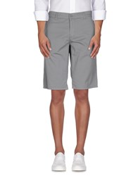 Bikkembergs Trousers Bermuda Shorts Men Grey