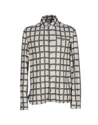 Galliano Shirts Grey