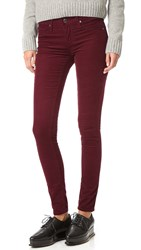 Ag Jeans The Super Skinny Legging Wine