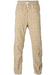 Soulland 'Keller' Relax Trousers Nude And Neutrals