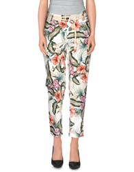 Franklin And Marshall Trousers Casual Trousers Women White