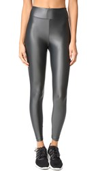 Koral Lustrous High Rise Leggings Gunmetal