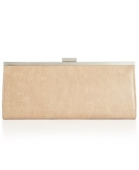 Styleandco. Style And Co. Carolyn Shiny Serpent Clutch Only At Macy's Tan Serpent