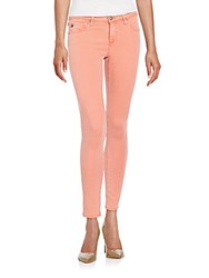 Ag Adriano Goldschmied Super Skinny Ankle Jeans Pink