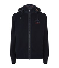Paul And Shark Full Zip Fleece Jacket Male Navy