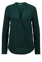 Kiomi Blouse Dark Green