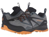 Merrell Capra Bolt Leather Waterproof Dark Slate Men's Lace Up Casual Shoes Gray