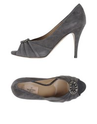 Valentino Garavani Footwear Courts Women Grey