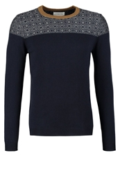 Harris Wilson Lemon Jumper Marine Dark Blue