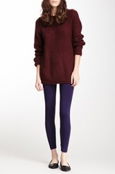 American Apparel Jersey Legging Purple