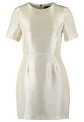 Warehouse Cocktail Dress Party Dress Gold