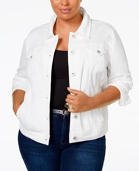 Styleandco. Style And Co. Plus Size Denim Jacket Only At Macy's Bright White