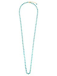 Irene Neuwirth Turquoise And Yellow Gold Necklace