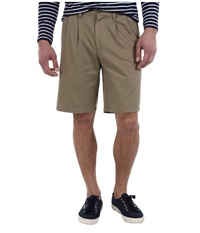 Dockers D3 Classic Fit Double Pleat Short New British Khaki Men's Shorts