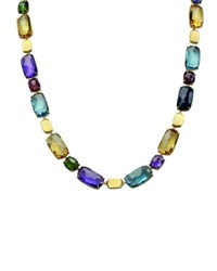 Marco Bicego Murano Mixed Stone Collar Necklace 17 L
