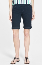 Jag Jeans 'Ainsley' Pull On Denim Bermuda Shorts After Midnight Regular And Petite