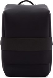Y 3 Black Neoprene Qasa S Backpack