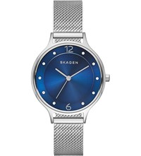 Skagen Skw2307 Stainless Steel Watch Blue